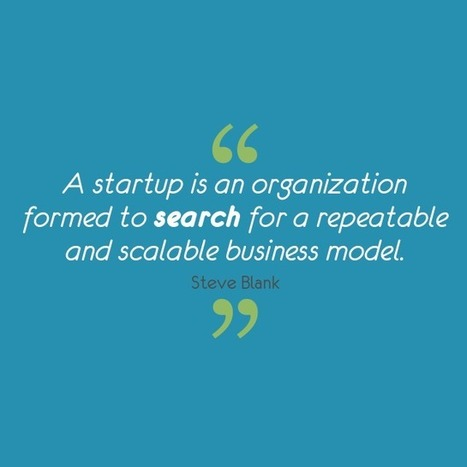 "Twitter / VentureDriven: ""A startup is an organization ... 