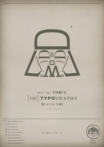 H-57 Creative Station: The Force of Typography | timms brand design | Scoop.it