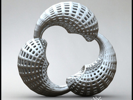 BJ Klein - Math Art by @Dizingof | 3D Printing and Fabbing | Scoop.it