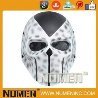 Numen Metal Mesh Full Face Magic Color airsoft military tactical Masks | Airsoft Paintball Mask | Scoop.it