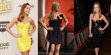 Jessica Alba, Jennifer Aniston, Olivia Wilde con abiti super aderenti - Sfilate | fashion and runway - sfilate e moda | Scoop.it