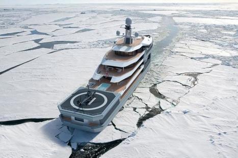 Le concept de #yacht brise-glace de Damen #banquise #arctique #antarctique | Hurtigruten Arctique Antarctique | Scoop.it