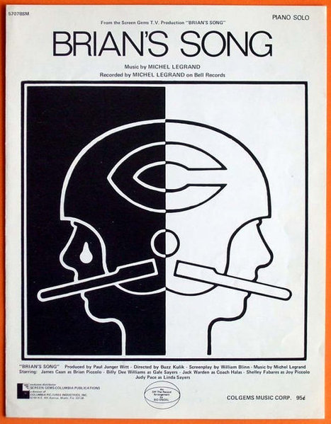 Brians Song Vintage 1972 Sheet Music | Daily Paper | Scoop.it