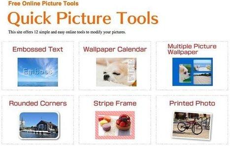 Quick Picture Tools, doce herramientas online para editar nuestras fotografías | Algo donde aprender | Scoop.it