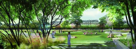 Forum et jardin des Halles à Paris par Seura Architectes - Actuarchi   Architecture   Scoop.it