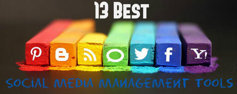 13 Best Social Media Management Tools | Blogging Wizard | marketing professional | Scoop.it