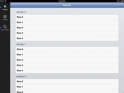 First look: CKSideBarController, a UITabBarController for iPad - Jason Kozemczak | iPhone and iPad development | Scoop.it