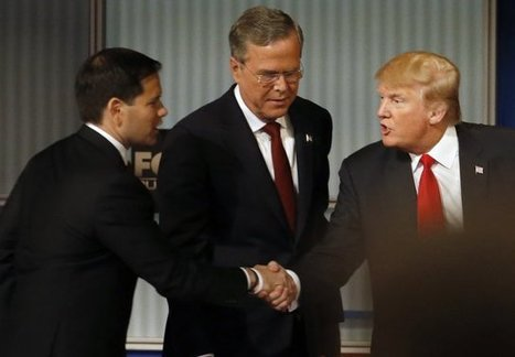 """The unwieldy Republican race for president heads South 