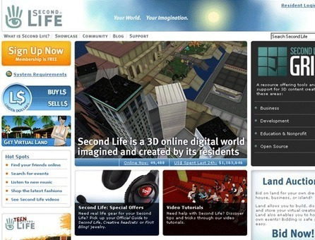 Second Life - Technology Tools - Help Center - UWB Learning Technologies - UW Bothell | Misc | Scoop.it