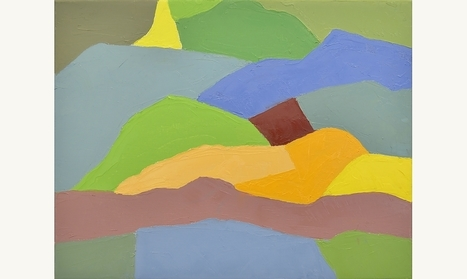 Etel Adnan - Institut du Monde Arabe, Paris | Gender and art | Scoop.it