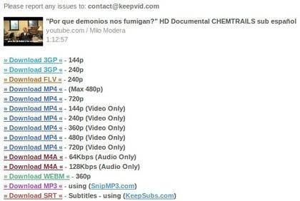 Como bajar videos de Youtube - El blog de @JRequejo | alfabetització informacional | Scoop.it