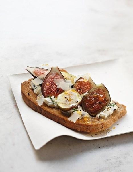 Un chef, une recette : Benoit Witz et ses Tartines de caillé de brebis, figues et miel :. | L'essentiel Luxe & Lifestyle | Scoop.it