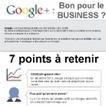 Infographie : Google + bon pour le business ? | Communication 2.0 et réseaux sociaux | Scoop.it
