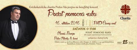 Benefičný koncert pre Gréckokatolícku CHARITU PREŠOV | Správy Výveska | Scoop.it