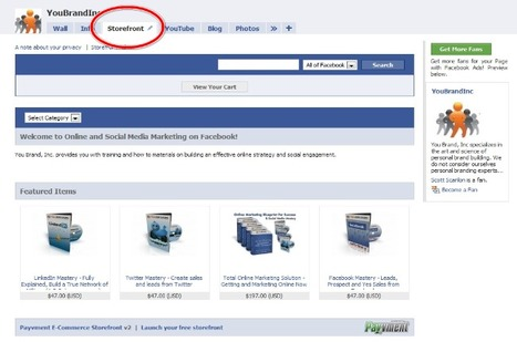 How to Create a Store on Facebook | The Berlin Economist | Scoop.it