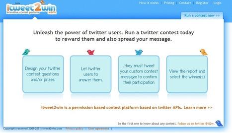 Herramientas para crear concursos en Twitter | Yo Community Manager | Scoop.it