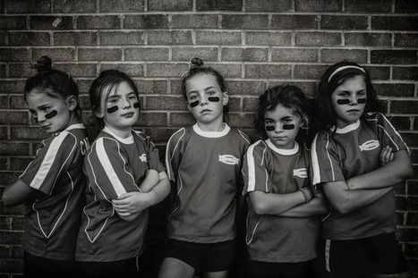 "Mother's Empowering Photos of Her Daughters Show ""Strong is the New Pretty"" 