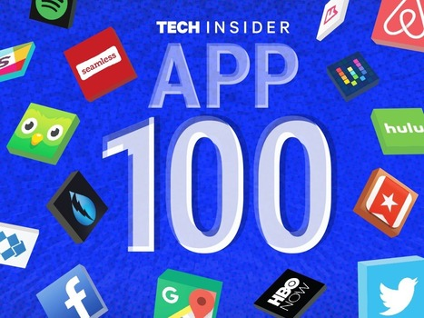 The App 100: The World's Greatest Apps | Teaching and Learning Resources for Faculty | Scoop.it