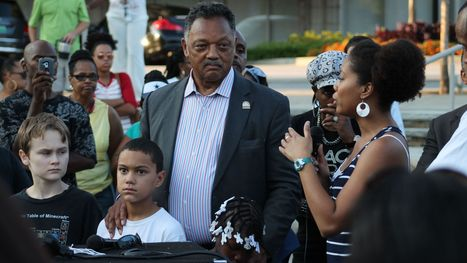 Jackson joins vigil for Michael Brown in Greenville - Greenville News | Emotional Photograph | Scoop.it