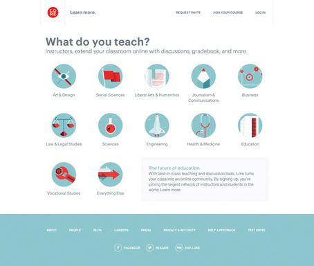 Web design inspiration: 35 examples of CSS   branding trends   Scoop.it