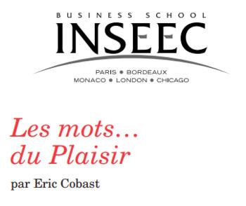 (FR) (PDF) - Les mots du plaisir | Eric Cobast | Glossarissimo! | Scoop.it