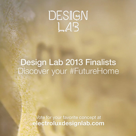 2013 Electrolux Design Lab | Art, Design & Technology | Scoop.it