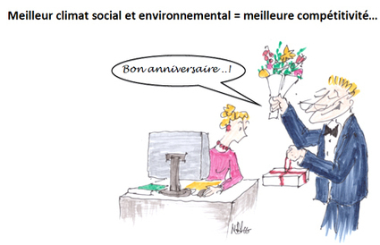 RSE et compétitivité : une relation positive - Les clés du social | Des idées à prendre ailleurs... | Scoop.it