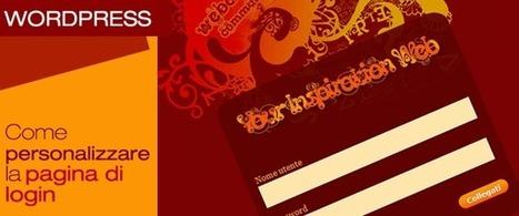 Come personalizzare la pagina di login di WordPress? | Conoscere Wordpress | Scoop.it