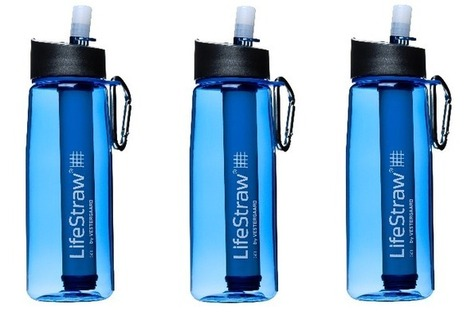 LifeStraw Go | Man of Many | Emergency Portable Water Filters | Scoop.it