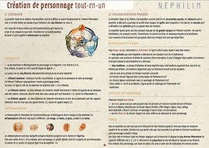Nephilim 4 : guide de création des personnages | Jeux de Rôle | Scoop.it