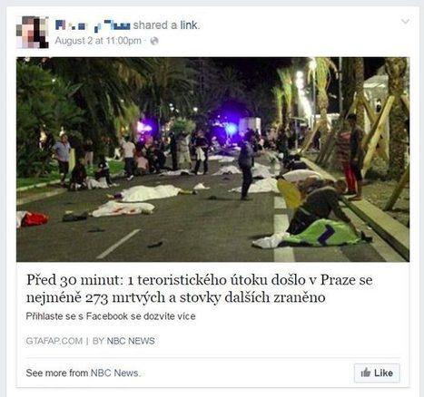 Falešné zprávě o teroristickém útoku v Praze naletěly na Facebooku tisíce Čechů   Pirátský svět   Scoop.it