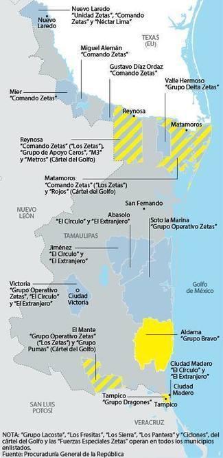 Geografía del crimen organizado en Tamaulipas | Mundo Criminal | Scoop.it