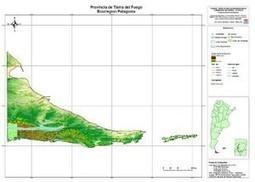 Mapa geoespacial Tierra del Fuego — INTA   GEORECURSOS   Scoop.it