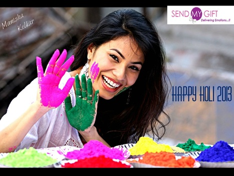 Holi Special Gifts 2014 - Send My Gift | Send My Gifts | Scoop.it