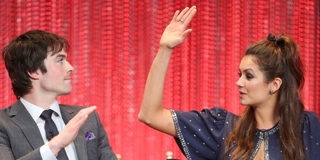 Nina Dobrev And Ian Somerhalder May Be The Friendliest Exes Ever - Huffington Post   Vampire diaries   Scoop.it