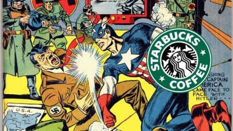 Paghi caffè, leggi fumetti: co-marketing Starbucks /Marvel | DailyComics | Scoop.it