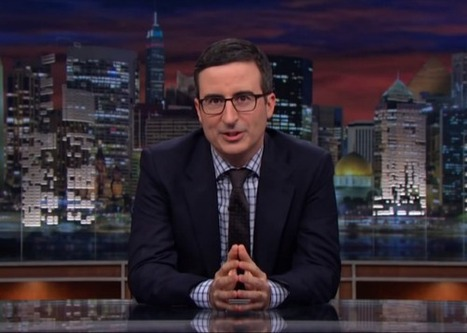 Why John Oliver's Last Week Tonight Is Better Than The Daily Show and Colbert | Comedy and Democracy | Scoop.it
