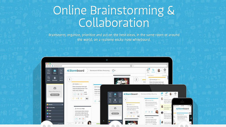 Stormboard is Making Collaboration Easy, Fun and Flexible - EdTechReview™ (ETR) | technology | Scoop.it