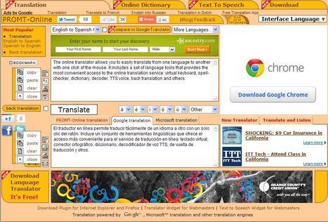 Web Translation, Online Dictionary, Language Translator   online translation   Scoop.it