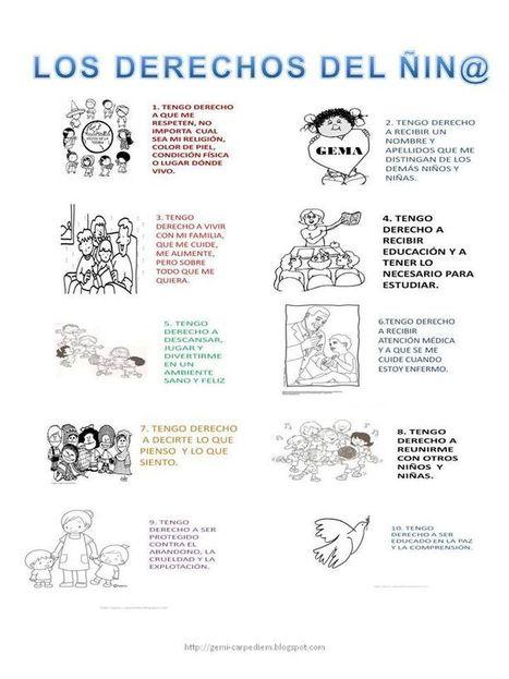 Derechos de los niños y niñas - Escuela en la nube   Recursos para Infantil y Primaria   Educación y TICs   Scoop.it
