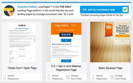 Landing Page Optimization & Testing: Q&A with Clay Collins of LeadPages | Writing for the web & content marketing | Scoop.it