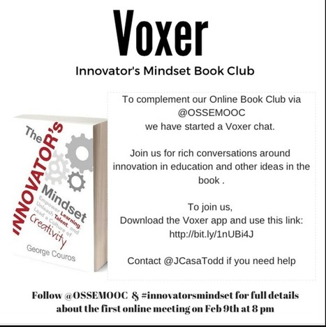 #InnovatorsMindset #ossemooc Voxer Group | New learning | Scoop.it