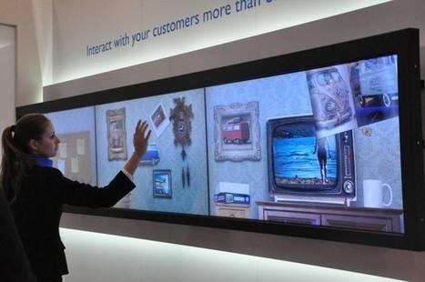 En direct de l'ISE à Amsterdam, la digitalisation des points de vente! | communication universe | Scoop.it
