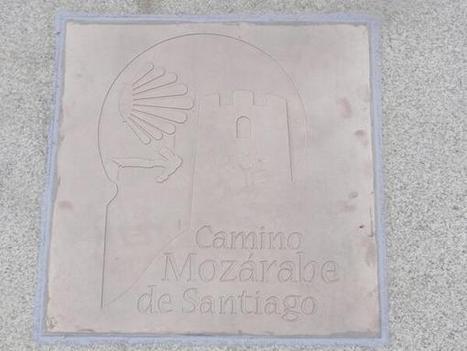 Twitter / camino_mozarabe: ¡Buenos días! Baldosa del ... | Camino Mozarabe - Via de la Plata | Scoop.it