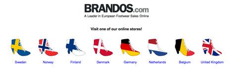 Brandos, le Zalando suédois arrive bientôt en France | Actualité de l'E-COMMERCE et du M-COMMERCE | Scoop.it
