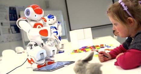 Quand les enfants collaborent avec un robot pour apprendre à écrire | La Transition sociétale inéluctable | Scoop.it