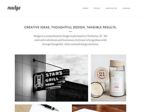 20 Excellent Portfolios and Design Agency Websites   Inspiration   Web and graphic design   Scoop.it