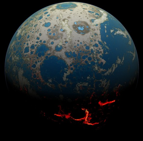 New NASA Research Shows Giant Asteroids Battered Early Earth | NGOs in Human Rights, Peace and Development | Scoop.it
