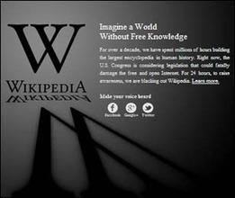 La ley SOPA y la huelga en Internet. Fahrenheit - RadioFórmula | Other Voices | Scoop.it