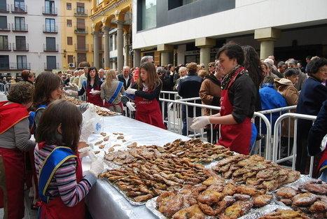 Los  crespillos  de Barbastro quieren ser una Fiesta de Interés Turístico Regional | Fiestas en Aragón | Scoop.it